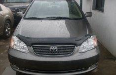 Toyota Corolla Grey 2005 for sale