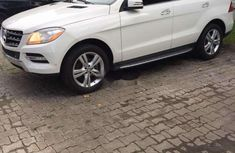 Mercedes-Benz ML350 2013 Petrol Automatic White
