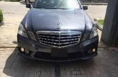 Mercedes-Benz E350 2010 Petrol Automatic Black