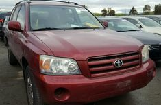 Well maintained Toyota Highlander 2005 for sale