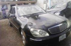 Mercedes-Benz S500 2000 Petrol Automatic Black
