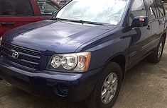 Toyota Highlanders 2002 for sale