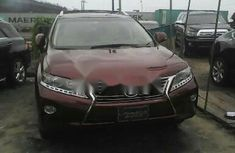 Almost brand new Lexus RX Petrol 2014