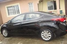 Hyundai Elantra 2015 Petrol Automatic Black