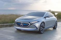 All-electric Mercedes-Benz EQA concept due to go head to head with Tesla Model 3