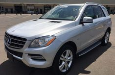 Mercedes Benz ML350 4matic 2012 model for sale