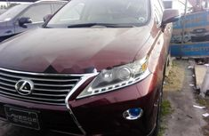 2013 Lexus RX for sale in Lagos