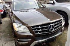 Mercedes-Benz ML350 2013 Petrol Automatic Brown