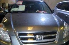 Clean Honda CR-V 2006 Gray for sale