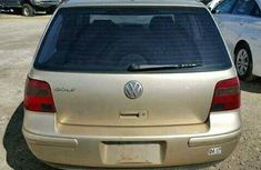 Clean and sound direct tokunbo 2003 Volkswagen golf3 for sale