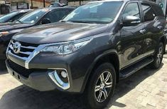 Toyota Fortuner 2018 Petrol Automatic Grey/Silver