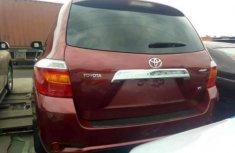 Foreign used Toyota Highlander 2010