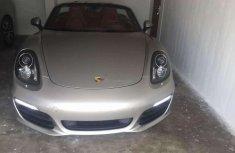 Almost brand new Porsche Boxster Petrol 2014
