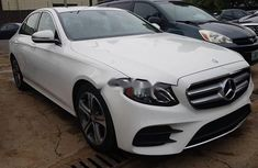 Mercedes-Benz E300 2017 Petrol Automatic White