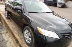 Clean Toyota Camry 2008 Black for sale