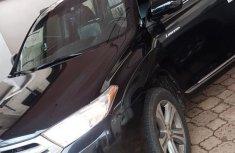 Toyota Highlander 2011 Black for sale