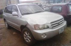 Almost brand new Toyota Highlander Petrol 2002
