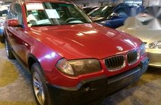 BMW X3 2005 Red for sale