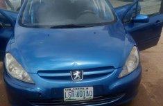 Sound Peugeot 307 2004 Blue for sale