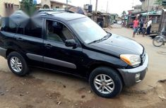 Clean Registered Toyota RAV4 2003 Black For Sale
