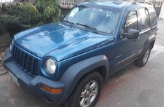 A Jeep Liberty 2004 Blue for sale