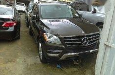 Mercedes Benz Ml350 2012 Black for sale