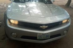 Clean Chevrolet Camaro 2010 Silver for sale