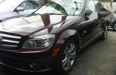Mercedes Benz C300 2009 Red for sale