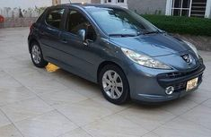 Peugeot 207 2007 Blue for sale