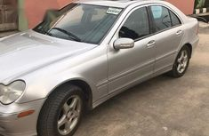 Mercedes Benz C230 2002 Silver For Sale