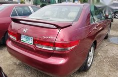 Honda Accord EOD 2004 Red for sale