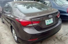 Registered Hyundai Elantra 2014 Brown
