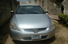 Clean Honda Accord 2005 Gray for sale