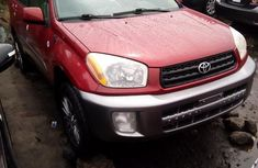 Toyota RAV4 2003 Red for sale