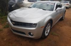 Chevrolet Camaro 2012 Silver for sale