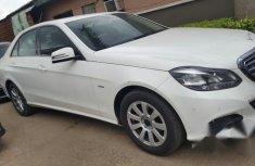 Mercedes Benz E200 2014 White