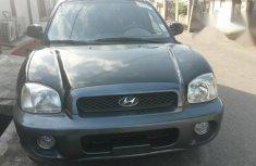 Hyundai Santa Fe SUV 2001 Black