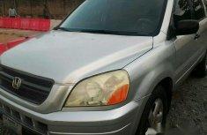 Clean Honda Pilot 2004 Gray for sale