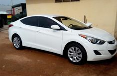 Neat Hyundai Elantra 2012 White for sale