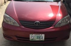 Slightly Used Toyota Camry 2003 Red For Sale