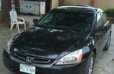 A Perfect Clean Honda Accord 2004 Black For Sale