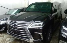 Lexus LX570 2017 Black Bullet Proof For Sale