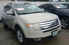 Clean Direct Ford Edge 2009 White for sale