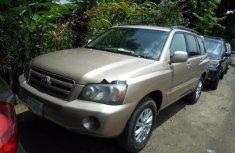 Toyota Highlander 2006 Automatic Petrol ₦1,850,000