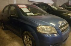Chevrolet Aveo 2009 Blue for sale