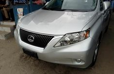 Lexus RX 2012 Petrol Automatic Grey/Silver for sale