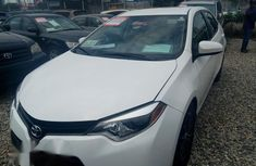 Toyota Corolla 2014 White for sale