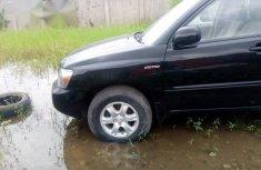 Toyota Highlander 2004 Black