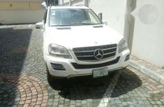 Mercedes-benz ML500 2007 White For Sale
