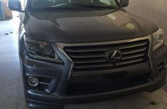 Lexus LX570 2017 Gray for sale